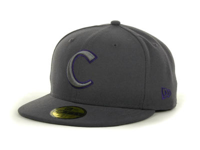 Clemson Tigers NCAA Gray Pop 59FIFTY Cap Hats