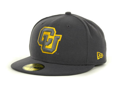 Colorado Buffaloes NCAA Gray Pop 59FIFTY Cap Hats
