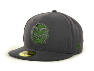 Colorado State Rams NCAA Gray Pop 59FIFTY Cap Hats