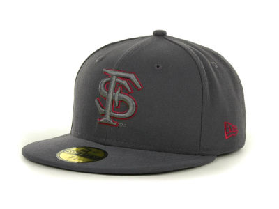 Florida State Seminoles NCAA Gray Pop 59FIFTY Cap Hats