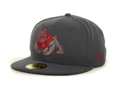 Fresno State Bulldogs NCAA Gray Pop 59FIFTY Cap Hats