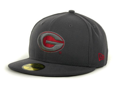 Georgia Bulldogs NCAA Gray Pop 59FIFTY Cap Hats