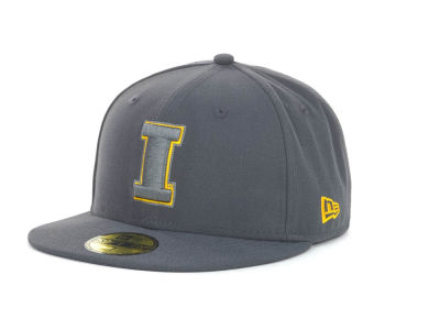 Iowa Hawkeyes NCAA Gray Pop 59FIFTY Cap Hats