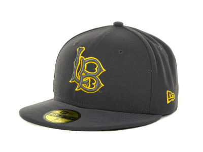 Long Beach State 49ers NCAA Gray Pop 59FIFTY Cap Hats
