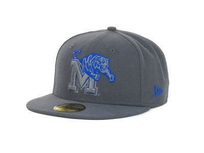 Memphis Tigers NCAA Gray Pop 59FIFTY Cap Hats