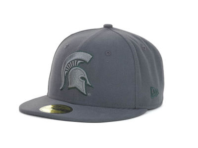 Michigan State Spartans NCAA Gray Pop 59FIFTY Cap Hats