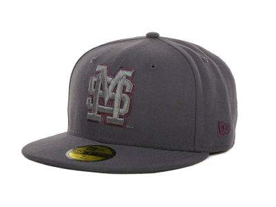 Mississippi State Bulldogs NCAA Gray Pop 59FIFTY Cap Hats