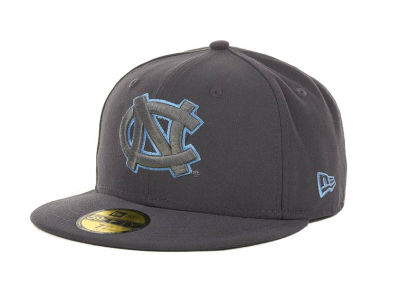North Carolina Tar Heels NCAA Gray Pop 59FIFTY Cap Hats