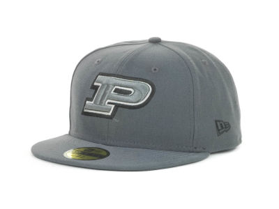 Purdue Boilermakers NCAA Gray Pop 59FIFTY Cap Hats