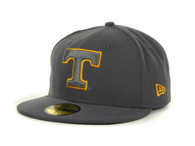 Tennessee Volunteers NCAA Gray Pop 59FIFTY Cap Hats