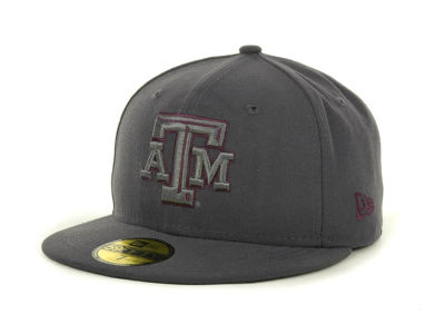 Texas A&M Aggies NCAA Gray Pop 59FIFTY Cap Hats