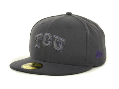 Texas Christian Horned Frogs NCAA Gray Pop 59FIFTY Cap Hats