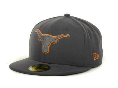 Texas Longhorns NCAA Gray Pop 59FIFTY Cap Hats