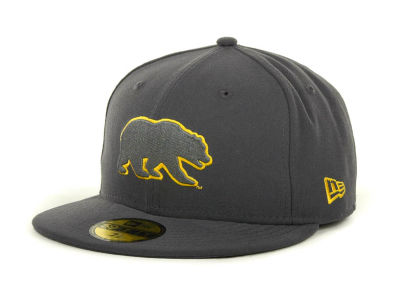 California Golden Bears NCAA Gray Pop 59FIFTY Cap Hats
