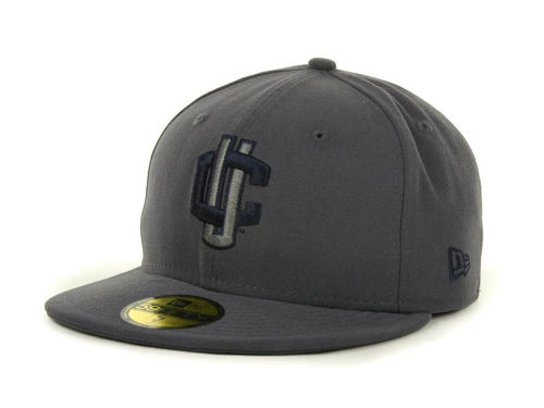 Connecticut Huskies New Era NCAA Gray Pop 59FIFTY Cap Hats