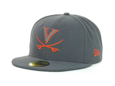 Virginia Cavaliers NCAA Gray Pop 59FIFTY Cap Hats