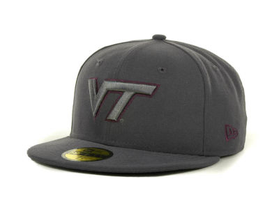 Virginia Tech Hokies NCAA Gray Pop 59FIFTY Cap Hats