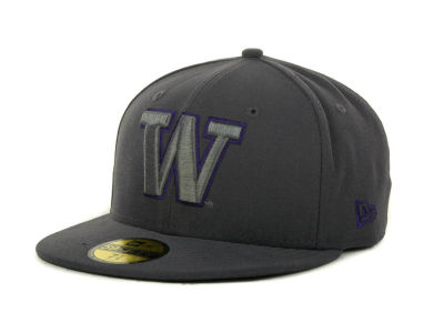 Washington Huskies NCAA Gray Pop 59FIFTY Cap Hats
