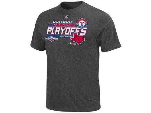 Texas Rangers Majestic MLB Wild Card T-Shirt 2012