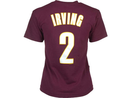 Cleveland Cavaliers Kyrie Irving Profile NBA Youth Name And Number T-Shirt