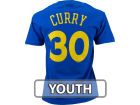 Golden State Warriors Stephen Curry Profile NBA Youth Name And Number T-Shirt T-Shirts