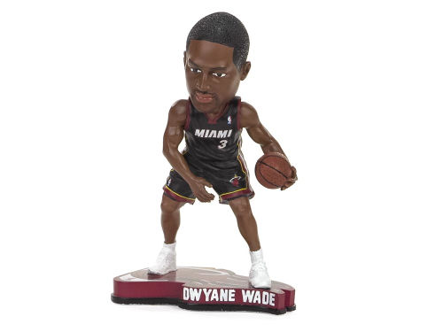 Miami Heat Dwyane Wade Forever Collectibles Pennant Base Bobble