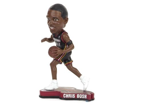 Miami Heat Chris Bosh Forever Collectibles Pennant Base Bobble