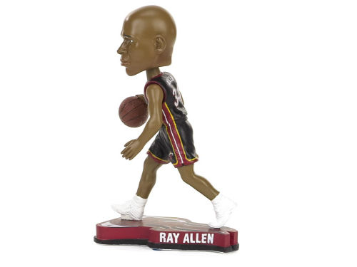 Miami Heat Ray Allen Forever Collectibles Pennant Base Bobble