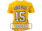 Los Angeles Lakers Metta World Peace Profile NBA Youth Name And Number T-Shirt T-Shirts