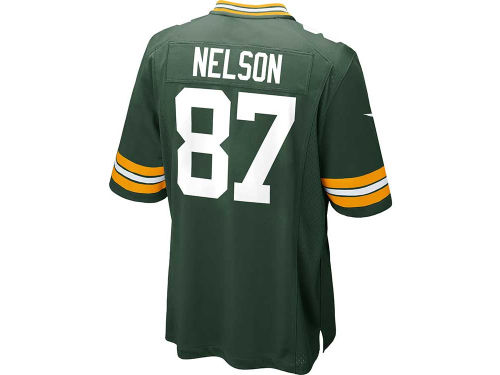 Green Bay Packers Jordy Nelson Nike NFL Game Jersey