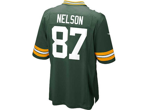 Green Bay Packers Jordy Nelson Nike NFL Youth Game Jersey