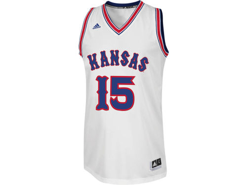 Kansas Jayhawks adidas NCAA Youth 1988 KU Retro Basketball Jersey