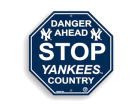 New York Yankees Stop Sign Kitchen & Bar
