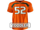 Miami Hurricanes #52 adidas NCAA Toddler Replica Football Jersey-Adidas Jerseys