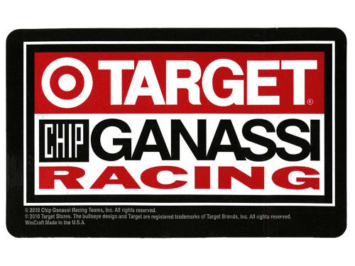 Target Chip Ganassi Racing CGR Logo Sticker