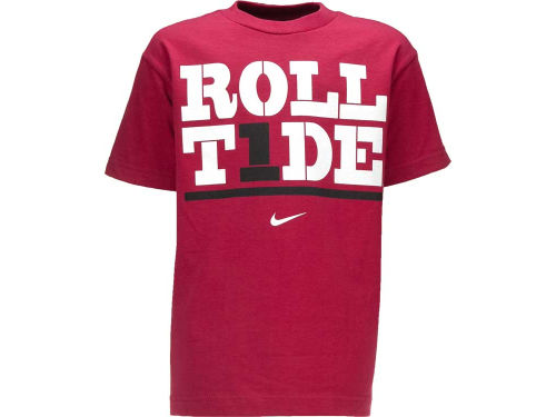 Alabama Crimson Tide Nike NCAA Youth My Schools Local T-Shirt