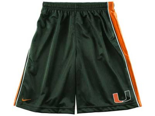Miami Hurricanes Nike NCAA Youth Authentic Basketball Short