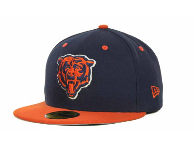 Chicago Bears NFL 2 Tone 59FIFTY Cap Hats