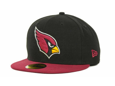 Arizona Cardinals NFL Black Team 59FIFTY Cap Hats
