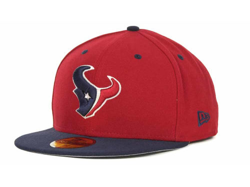Houston Texans New Era NFL 2 Tone 59FIFTY Cap Hats