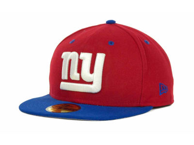 New York Giants NFL 2 Tone 59FIFTY Cap Hats