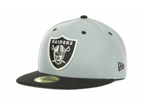 Oakland Raiders New Era NFL 2 Tone 59FIFTY Cap Hats