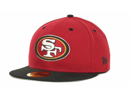 San Francisco 49ers New Era NFL 2 Tone 59FIFTY Cap Hats