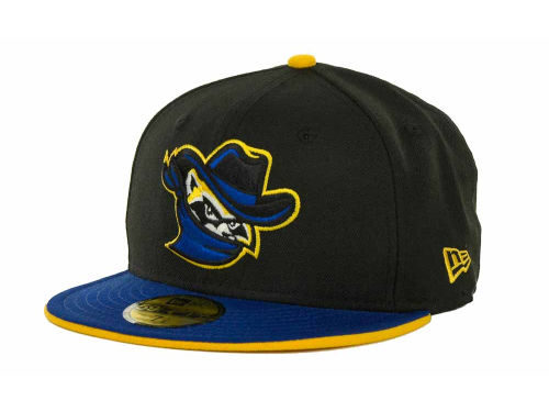 Quad Cities River Bandits New Era MiLB Customs 59FIFTY Cap Hats