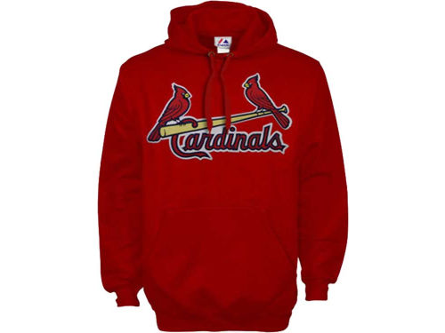 St. Louis Cardinals Majestic MLB Suedetek Hooded Fleece