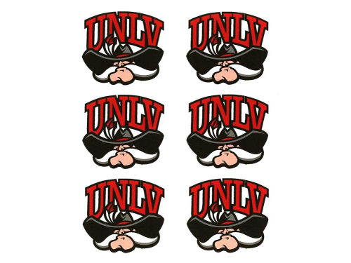 UNLV Runnin Rebels Face Decals