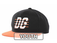 DC Shoes Youth Velton Snapback Cap Adjustable Hats