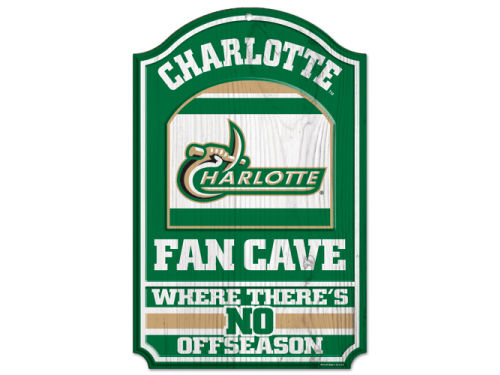 Charlotte 49ers Wincraft 11x17 Wood Sign