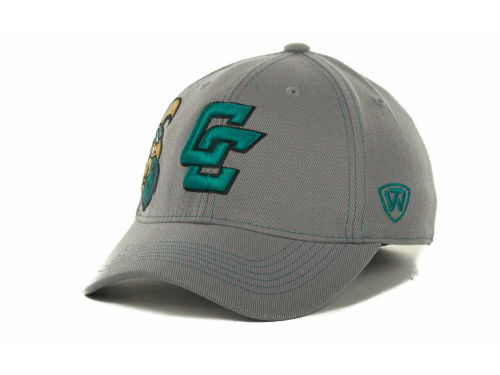 Coastal Carolina Chanticleers Top of the World NCAA Sketched Gray Cap Hats