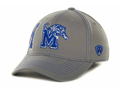 Memphis Tigers Top of the World NCAA Sketched Gray Cap Hats